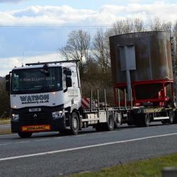 Captured on A1 near Durham City by local truck photographer Ron Elliott